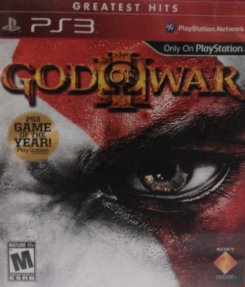 God Of War 3 Game Of The Year Ps3