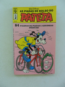As Piadas De Bolso Do Pateta Nº 2! Jun 1988!