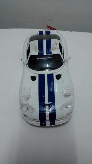 Carrinho Dodge Viper Gt2 Escala 1-24
