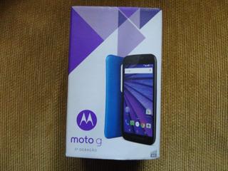 Caixa Vazia Celular Motorola Moto G 3a Geração