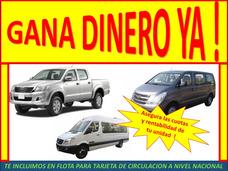 Solicitamos Combi Sprinter Van Y Camioneta 4x4 ,socio Lima