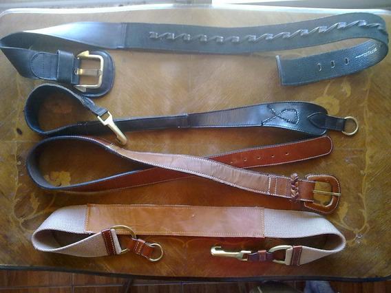 Antiguo Cinturón Faja Caderín Cuero Retro Vintage Hebilla