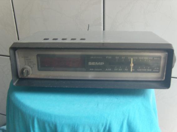 Antigo Rádio Relógio Semp Rr1005