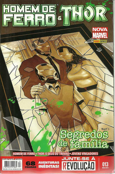Homem De Ferro 13 Nova Marvel - Bonellihq Cx117 I19