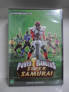 Dvd Power Rangers Super Samurai - 19ª Temp - Lacrado - Vol 2