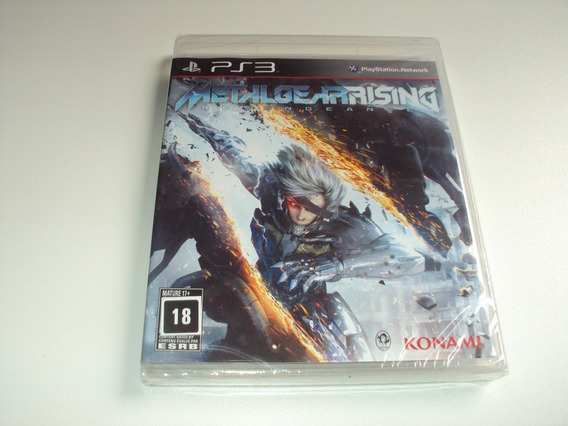 Metal Gear Rising Revengeance Original Lacrado Playstation 3