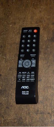 Control Remoto Genérico Nuevo Para Tv Lcd Aoc S/18