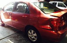 Toyota Corolla Chocado Partes Refacciones Autopartes Piezas.