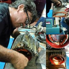 Rebobinado De Motores Electricos. Mantenimiento Y Reparación