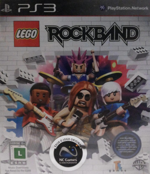 Lego Rock Band Ps3 Jogo Novo Original Lacrado
