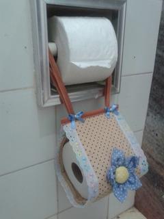 2 Porta Papel Higienico