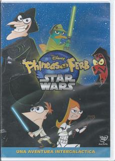 Phienas Y Ferb Star Wars + 8 Episodios Dvd Nacional