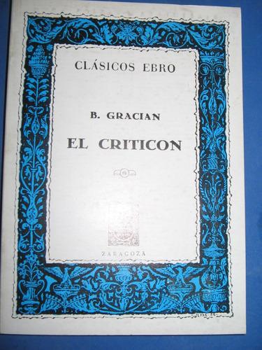 El Criticon - B. Gracian