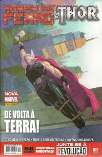 Homem De Ferro & Thor 10 - Panini - Bonellihq Cx121 I19