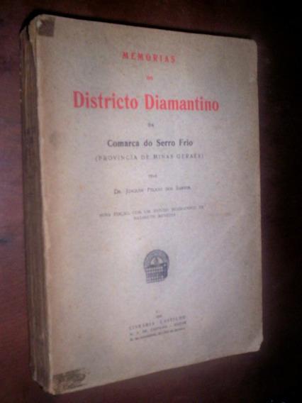 Raro Memórias Da Província De Minas Gerias 1924