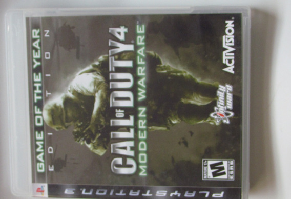Ps3 Call Of Duty - Modern Warfare 4