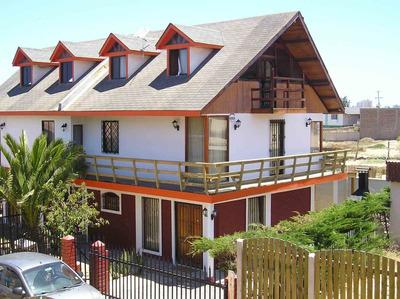 Casa Cabaña Mar Azul Equipada Para 10 Personas
