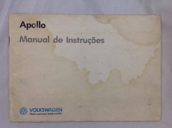 Manual Do Proprietário-volkswagen Apollo 90 Em Branco - Raro