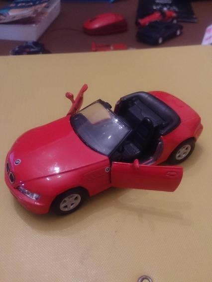 Auto Coleccion Bmw Z3 2.8 Roadster Rojo Escala 1/38