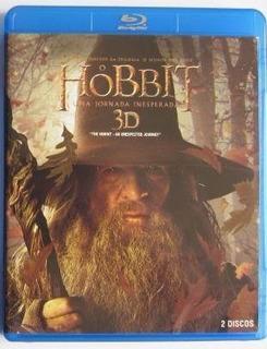 Blu Ray Hobbit A Triologia Semi Novo Ingles E Portugues