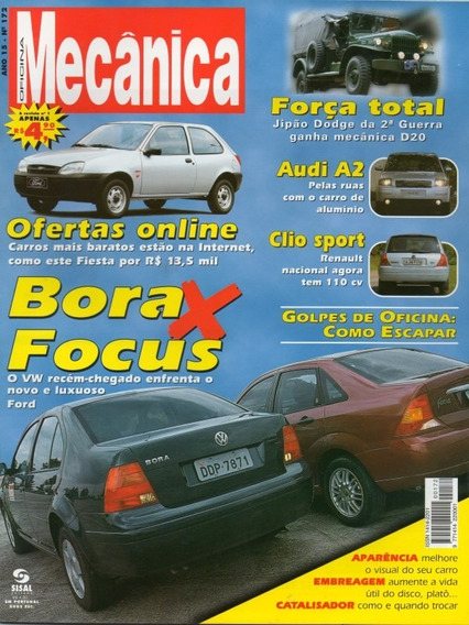 Oficina Mecânica Nº172 Bora Focus Clio Audi A2 Dodge Guerra