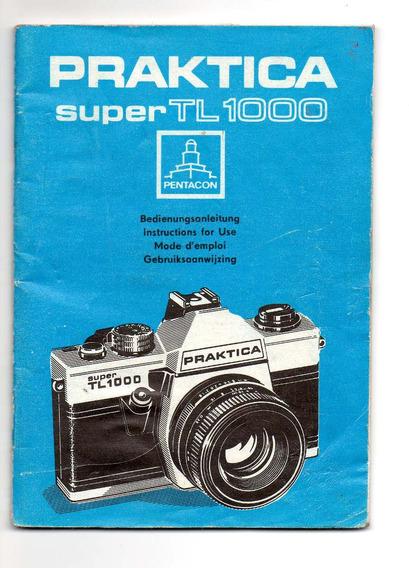 Manual Original De Camara De Foto Praktica