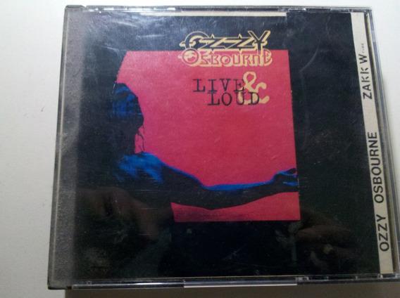 Ozzy Osbourne - Cd Live & Loud Cd Doble Sin Caja Original!!!