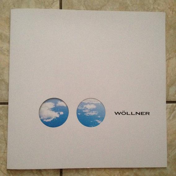 Catálogo Wollner 2014 Com Cartão Postal 29,5x29,5cm