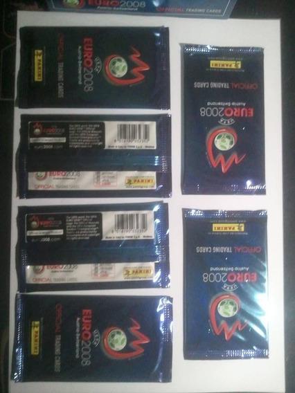 Envelope Booster Trading Cards Panini Euro 2008 Lacrado