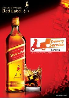 Whisky Johny Walker Rojo1lt Envio Gratis Comp May $3000