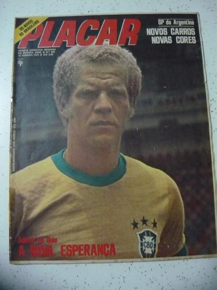 Revista Placar 200 Ceará Jornal Inter Ademir Palmeiras 1974