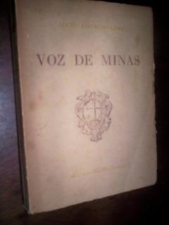 Raro A Voz De Minas Gerais Alceu Amoroso Lima 1945
