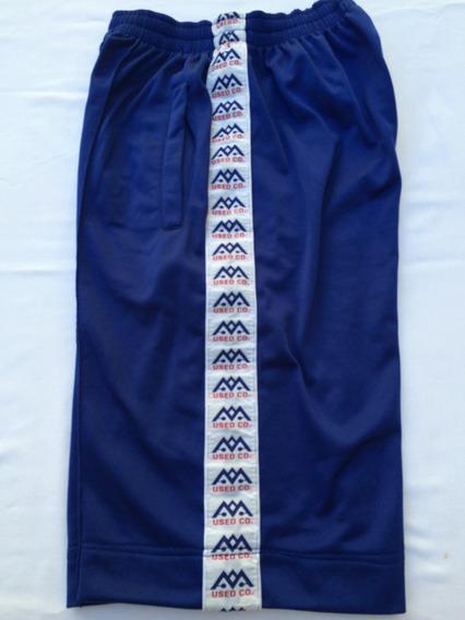 Pantalon Corto Used Co Usa Azul Talle M