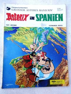 Hq: Asterix In Spanien - Alemanha - Delta Verlag Gmbh