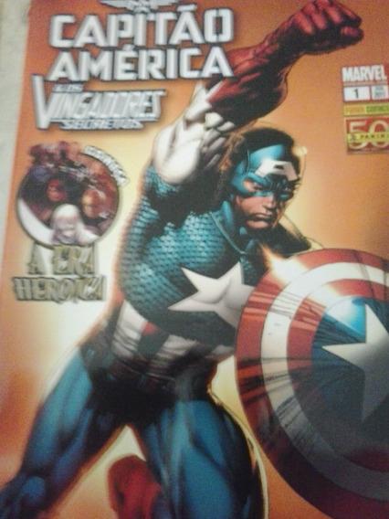 Capitão América E Os Vingadores Secretos