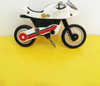 Moto Kamen Rider Black Rx Coleção Glasslite Anos 80! Raro!