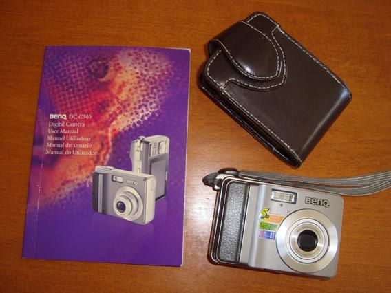 Cámara Digital Benq Dc C540 5.0 Mega Pixels Perfecto Estado