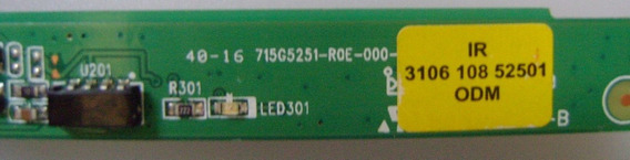 Sensor Ir Philips 32 E 42pfl4007g/78 715g5251-roe-000-004i