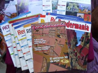 Revistas Rendermania Lote Hobby Press 22 Revistas