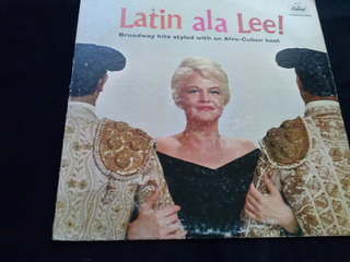 Latin Ala Lee Broadway Hits Styled With An Afro Cuban Beat