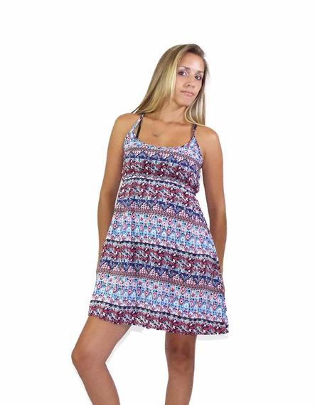 Vestido Celeste Varios Colores Simple