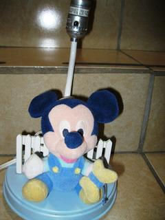 Lampara De Mickey Sin Pantalla