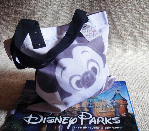 Bolsa Mickey Exclusividade 100% Park Disney Face
