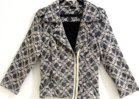 Maravilhosa Jaqueta/casaco Feminino Em Renda - Tam. M