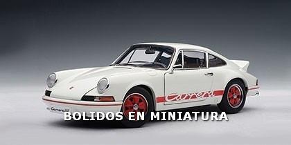 Porsche 911 Carrera Rs 2.7 1973 - Red Stripes - Autoart 1/18