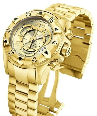 Relógio Invicta Ouro 18k Original 6471