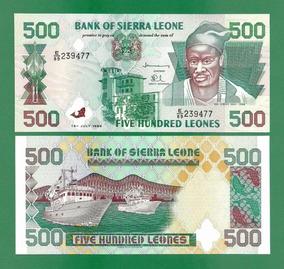 Serra Leoa 500 Leones 1998 P. 23b Fe Cédula - Tchequito