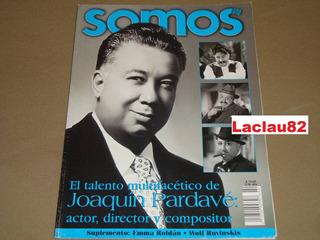 Joaquin Pardave El Talento Multifacetico Revista Somos 2000