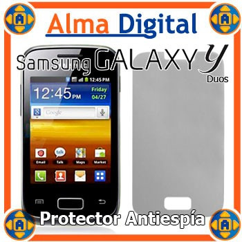Lamina Protector Pantalla Antiespia Samsung S6102 Young Duos
