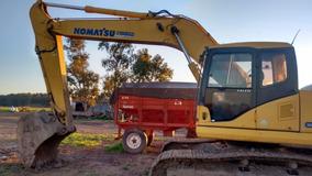 Excavadora Retro Komatsu Pc 160 Y Pc 220 - Financio Permuto